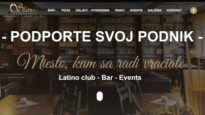 Slavio᾿s - Latino club - Bar - Events | Startovač sbírka