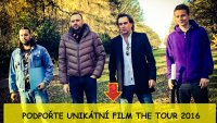 KOMICI S.R.O. FILM THE TOUR 2016 - crowfunding kampaň