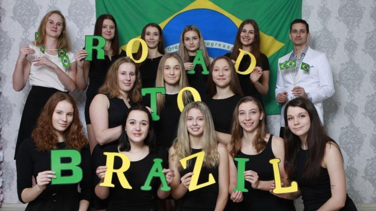 #Road To Brazil
