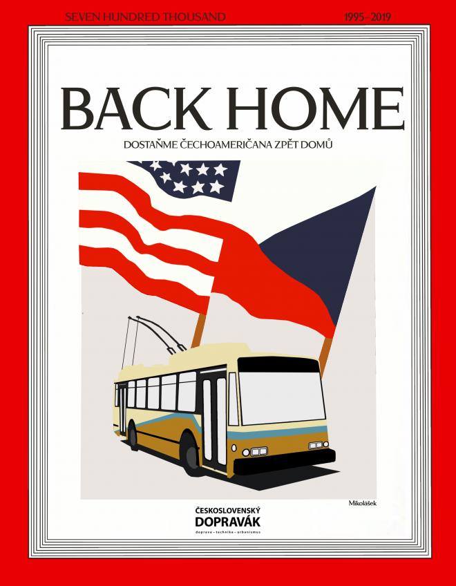Plakát s motivem kampaně jako variace na slavnou titulní stránku časopisu TIME z roku 1945..