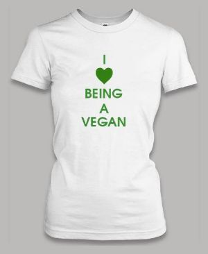 Triko I love be vegan.jpg
